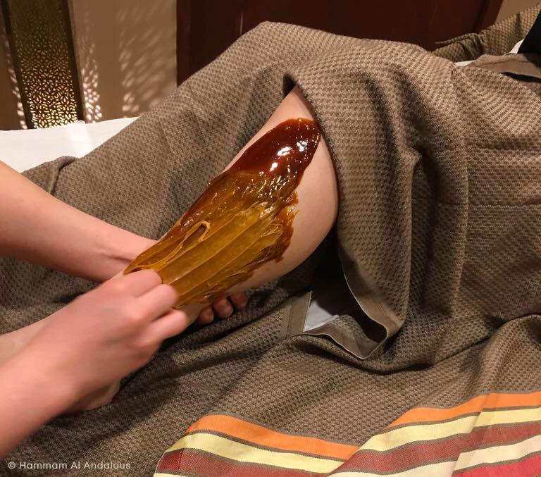 Véritable épilation orientale au miel