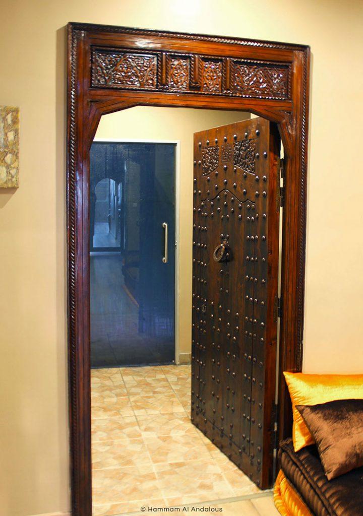 Porte orientale accès hammam